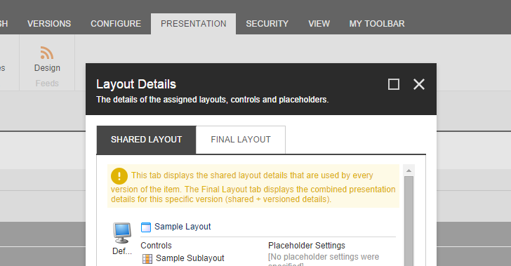 presentation details changes in sitecore 8 how renderings are