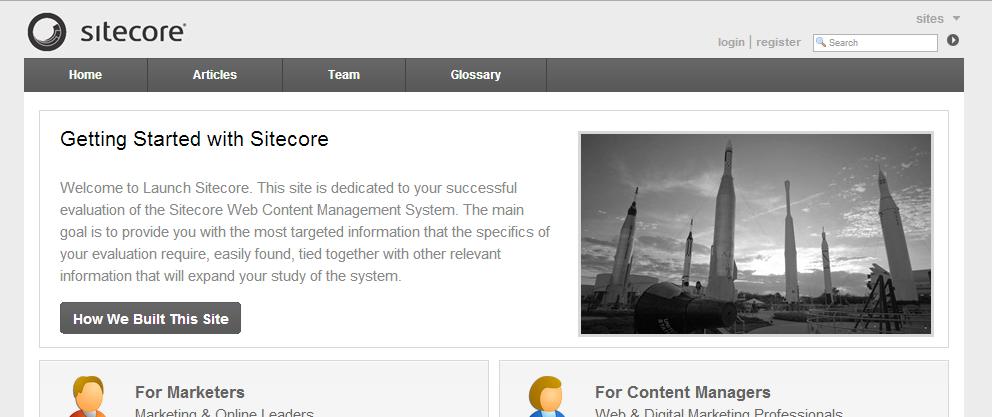 Launch Sitecore